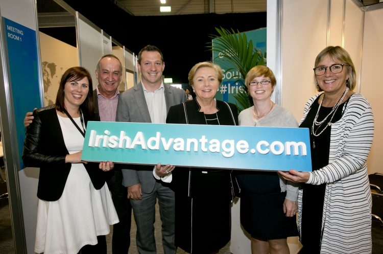 O'Donnells meet with An Tánaiste at Enterprise Ireland's International Markets Week